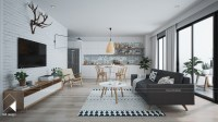 Modern Scandinavian Design for Home Interior Completed ...