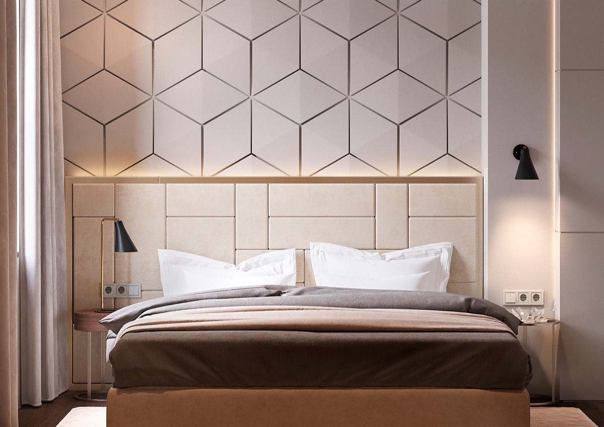 Accent Wall Ideas Bedroom Beautiful Bedrooms With Creative Accent Wall Ideas Looks