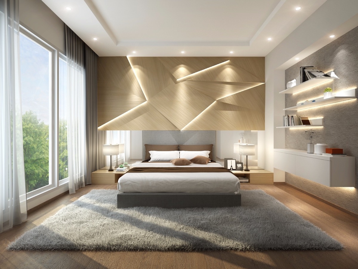 Modern Bedroom Walls Beautiful Bedrooms With Creative Accent Wall Ideas Looks