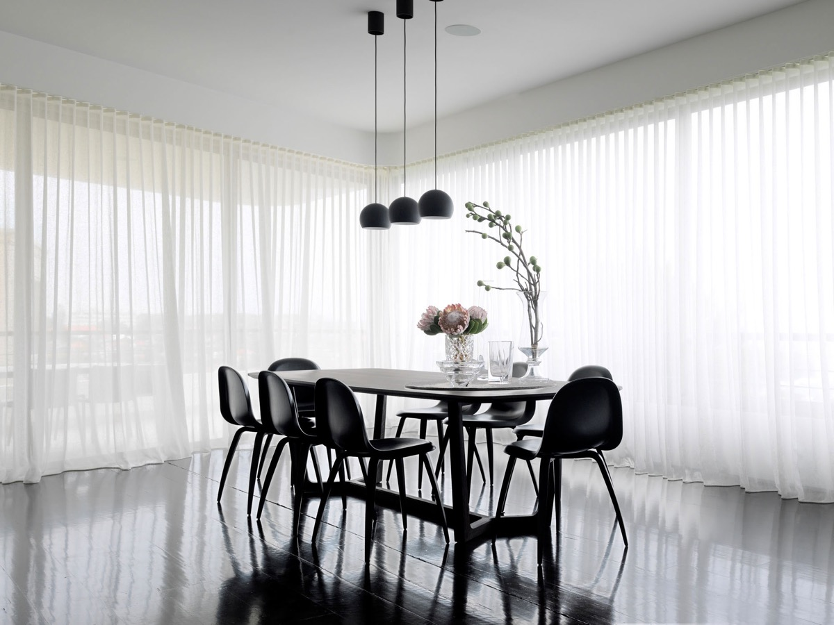Dining Room Black And White 3 Types Of Black And White Dining Room Designs For