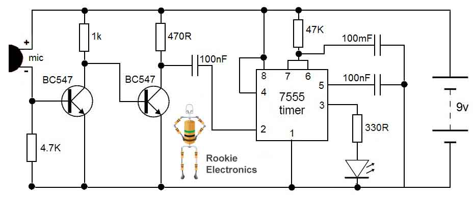 circuit of led