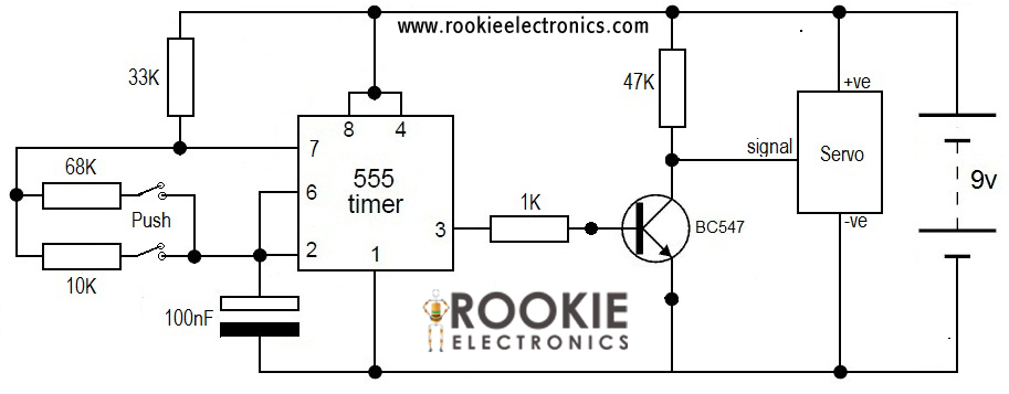 circuit diagram with breadboard