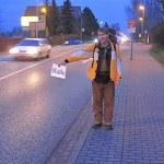 Tramptour von Eisleben nach Amerika #2: Guter Start trotz kalter Füße