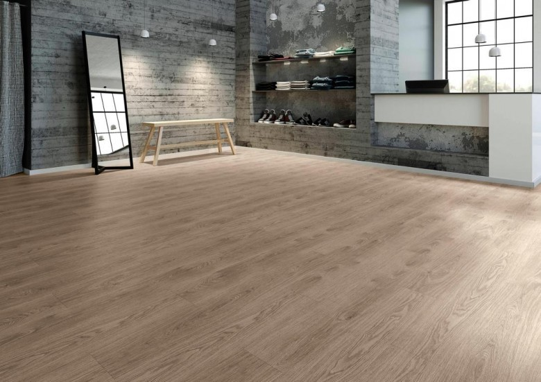 Vinylboden Ohne Kleben Joka Design 555 - Country Grey Oak - 5201- Klebevariante