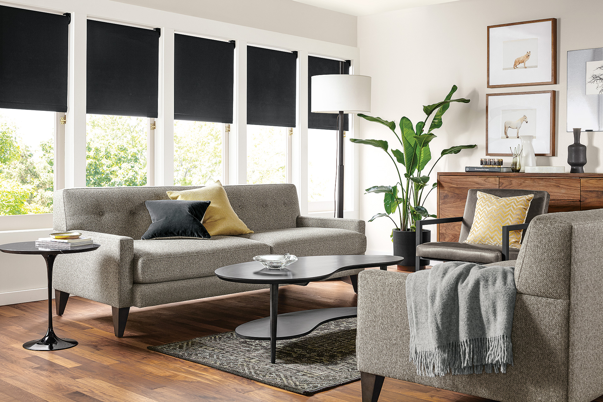 Decorating A Small Apartment Why This Room Works Sophisticated Living Room Room And Board