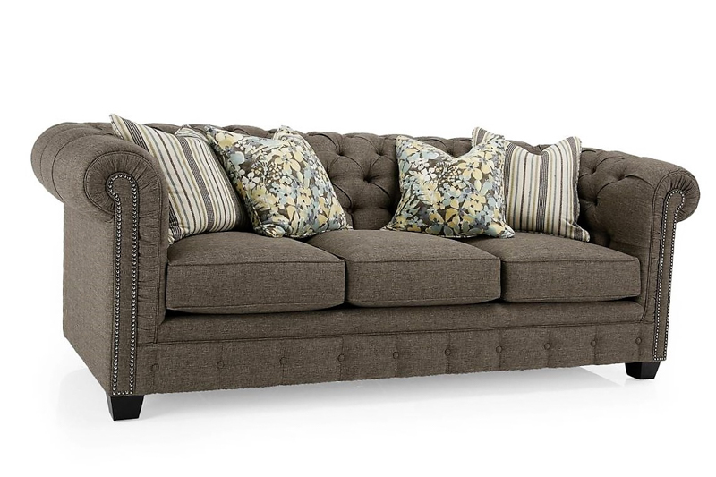 High Back High Arm Sofa Decor-rest 2230 Sofa - Room Concepts