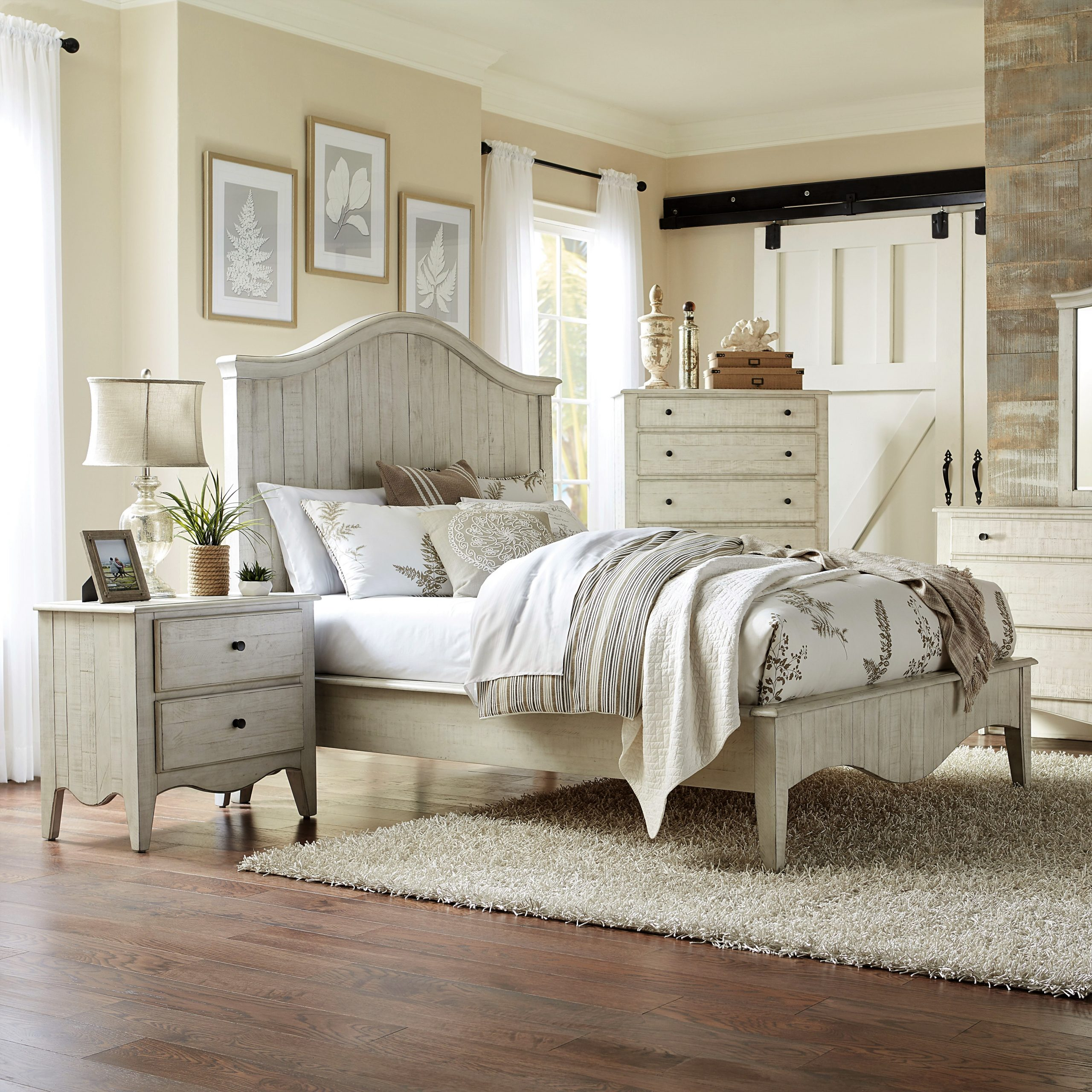 Ella White Rustic Bedroom Room Concepts