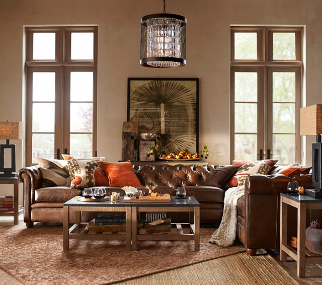 10 Living Rooms for Thanksgiving Day