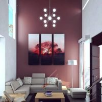 Beautiful Living Room Wall Painting Colors 2017