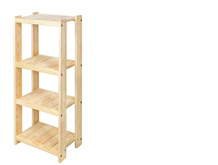 Solid Wood Bookshelf Size Quotnarrowquot 19 Inch Width