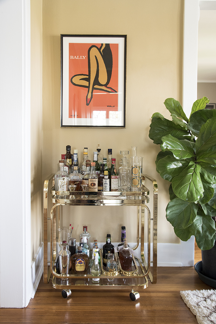 Bar Cart Cheap The Ultimate Bar Cart Checklist - Room For Tuesday
