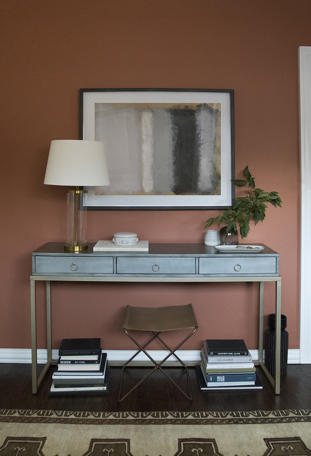 Accent Room Colors Accent Wall Using Terra Cotta Paint Color Room For Tuesday