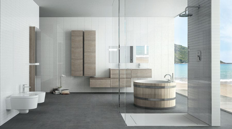 The latest bathroom design trends for 2014