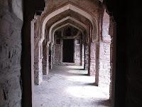 corridor of horror.