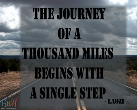 The journey of a thousand miles_Laozi