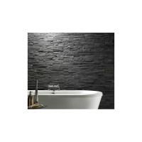 Black Slate Split Face Cladding Mosaic Tiles for Walls ...