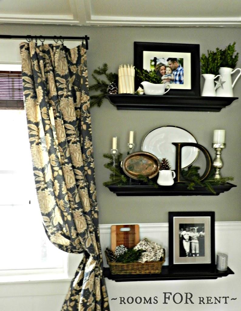 Dining room Christmas Vignettes Rooms For Rent blog : shelves from roomsforrentblog.com size 794 x 1024 jpeg 170kB