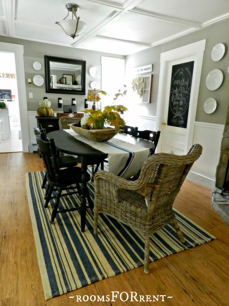 our dining room fall 2013 rooms for rent blog. Black Bedroom Furniture Sets. Home Design Ideas