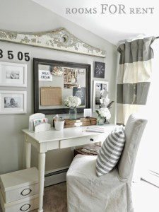 Home Office {Sweet & Simple}