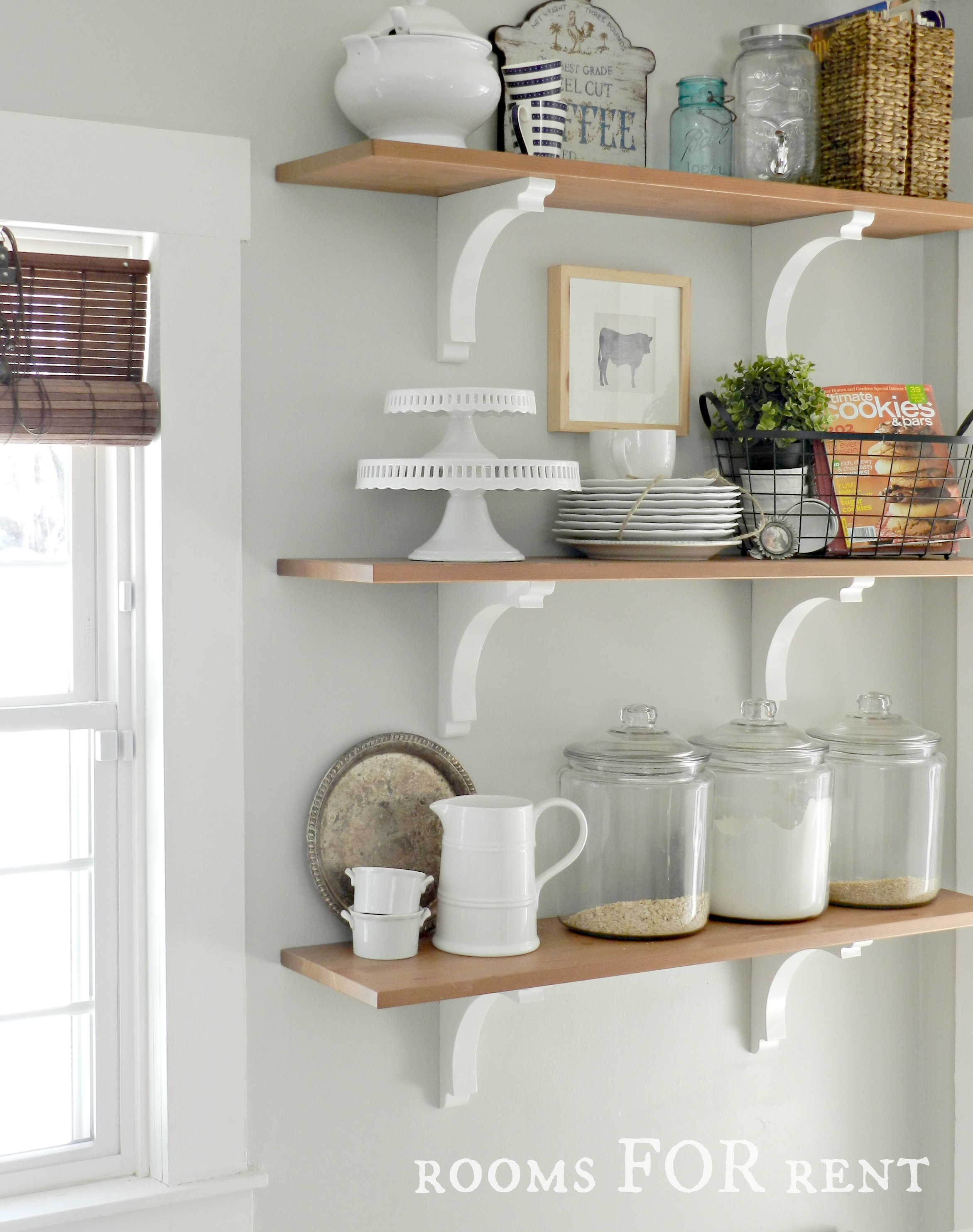 Kitchen Shelf Decorating How To Update Your Kitchen Rooms For Rent Blog