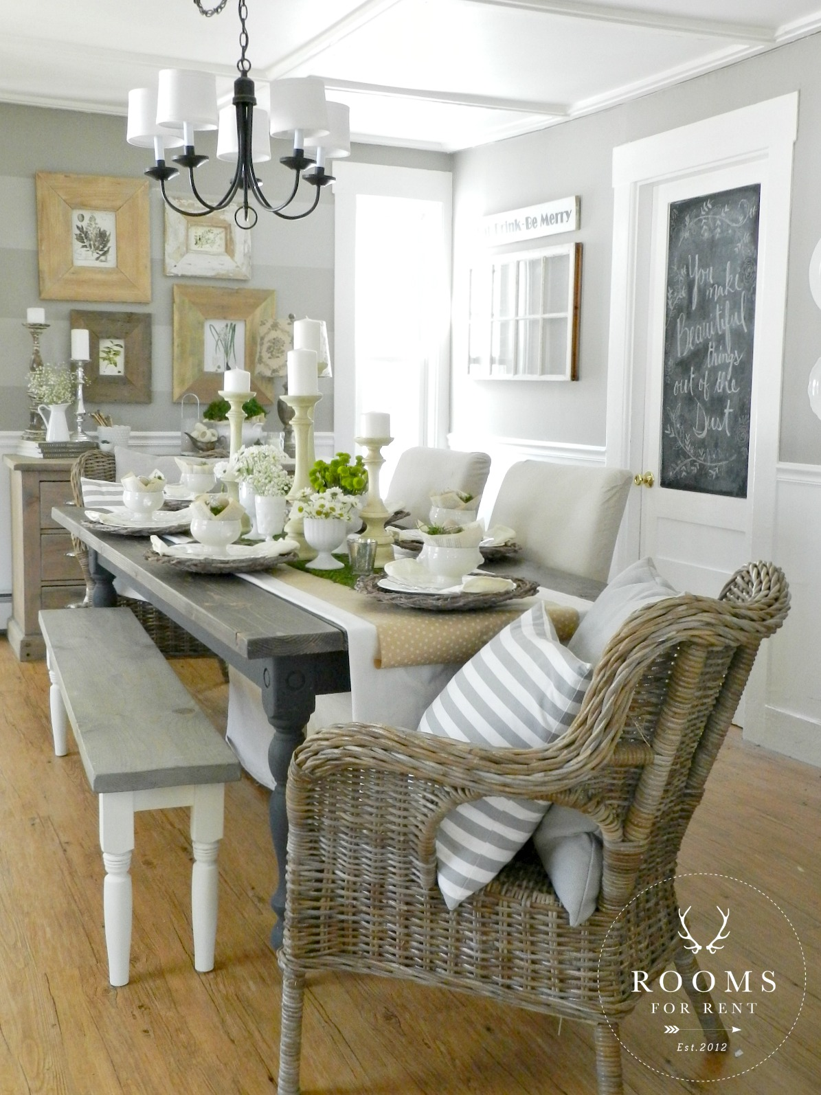 Easter Table Centerpiece Rooms For Rent Blog