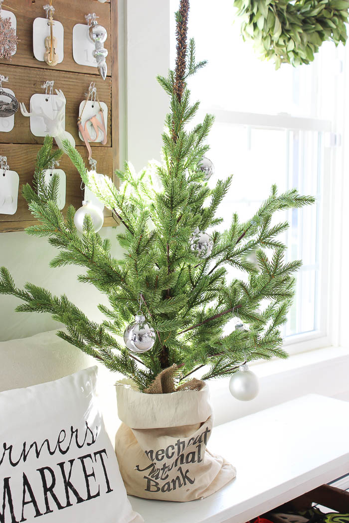 Decorating with Table Top Christmas Trees