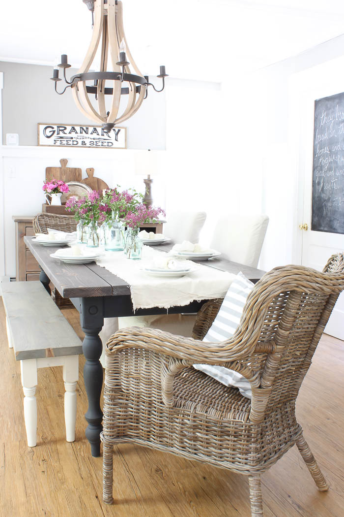 Celebrate Summer Home Tour | Rooms FOR Rent Blog 3443. I Loved Our Dining  Room Table.