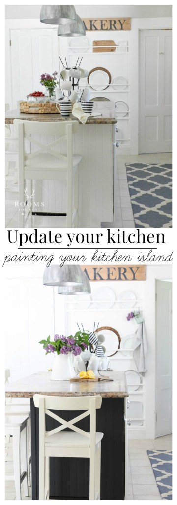Painting Your Kitchen Island