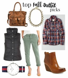 My Top Fall Outfit Picks