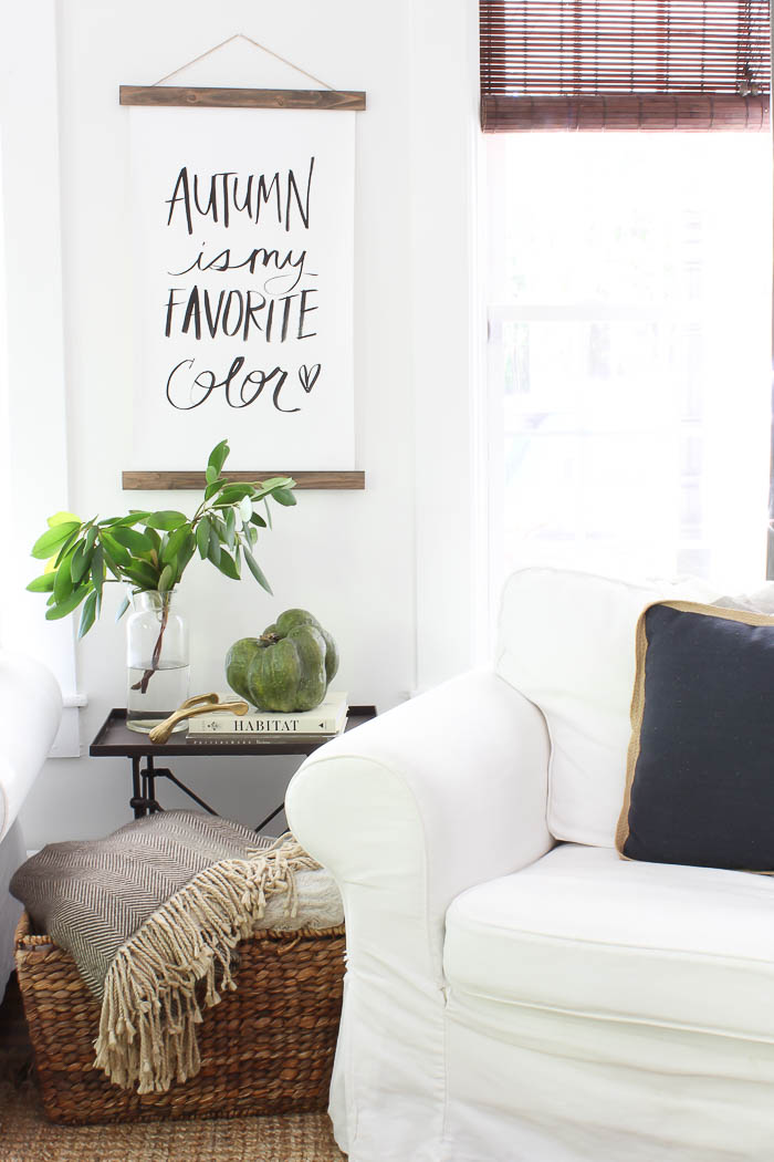 Living Room Decor Items Farmhouse Fall Living Room - Rooms For Rent Blog