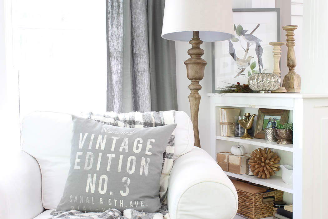 Fall Vignette, 10 Minute Decorating | Rooms FOR Rent Blog