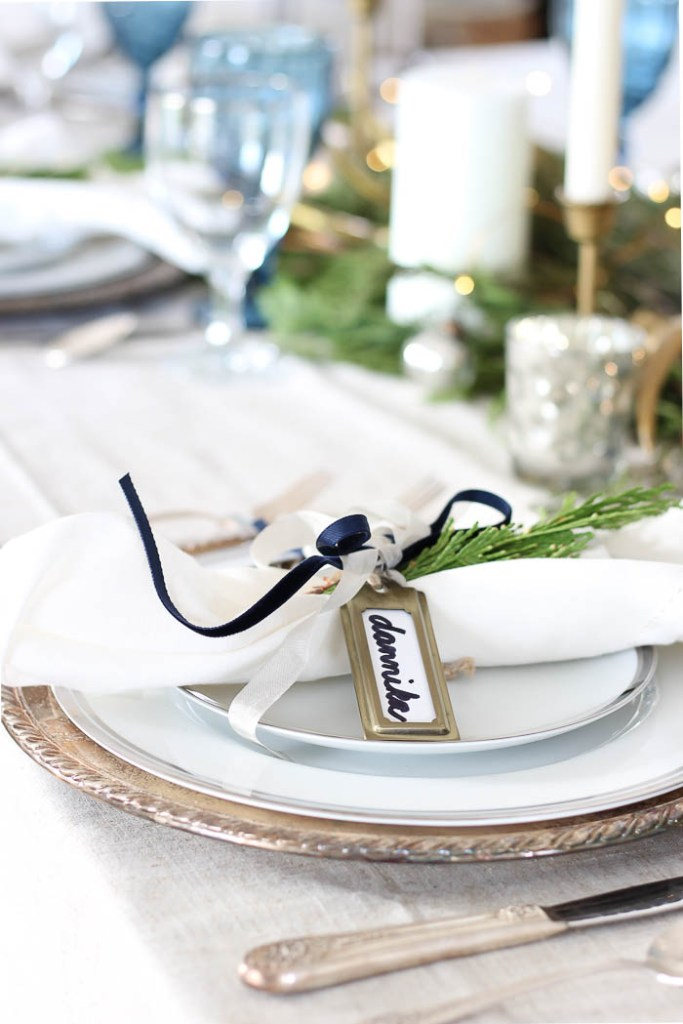 Woodland Winter Tablescape | Rooms FOR Rent Blog
