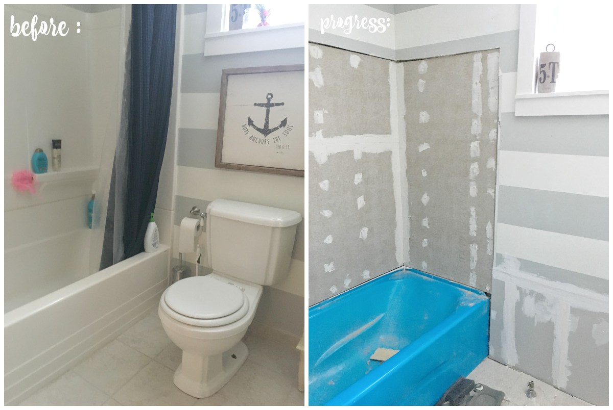 Bathroom Reno: Part 1
