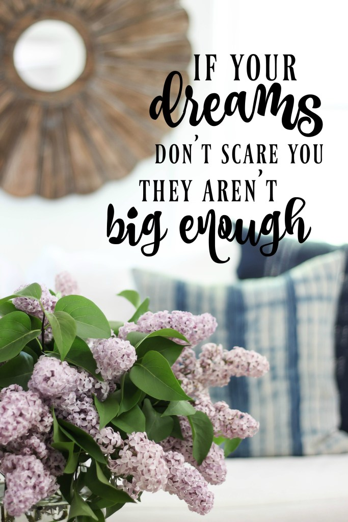If your dreams don't scare you | Rooms FOR Rent Blog