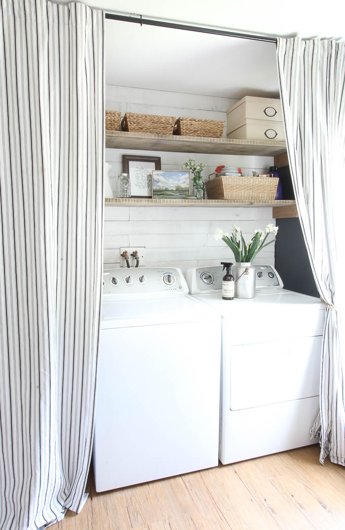 Farmhouse Laundry Room Makeover | Rooms FOR Rent Blog