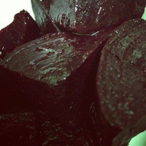 Slow-roasted Beets