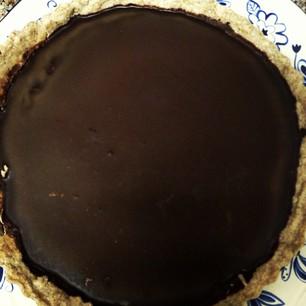 Cacao Coconut Tart