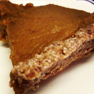 Raw Pumpkin Pie Redux