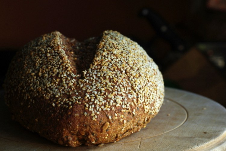Seeded Wheat and Rye Bread