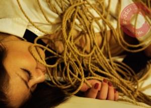 Rope emotion. Kinbaku feeling. Shibari thoughts.