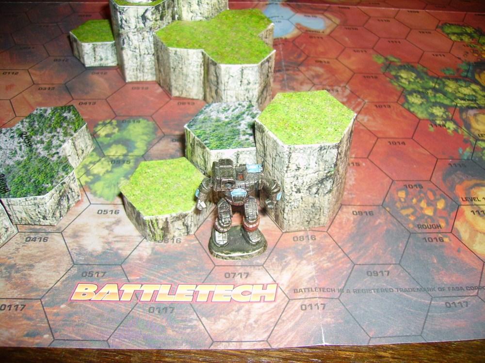 Battletech - Gelände und Billigmechs (4/6)