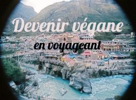 devenir vegane