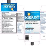 Nasalcrom regulates Mast Cells – reduces redness