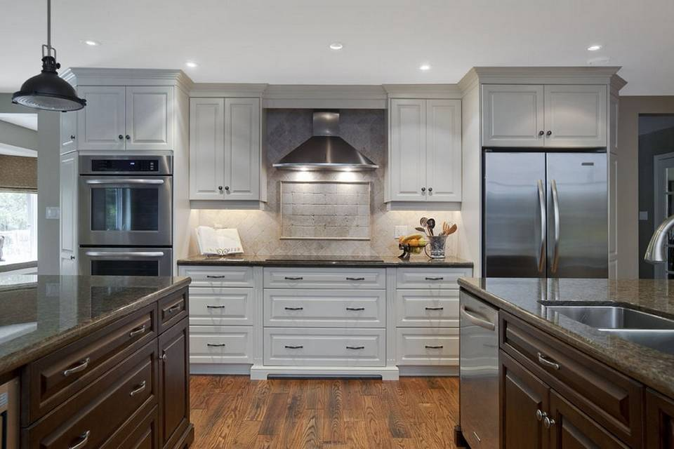 How High Is A Kitchen Island Two Kitchen Islands | Rosariocabinets