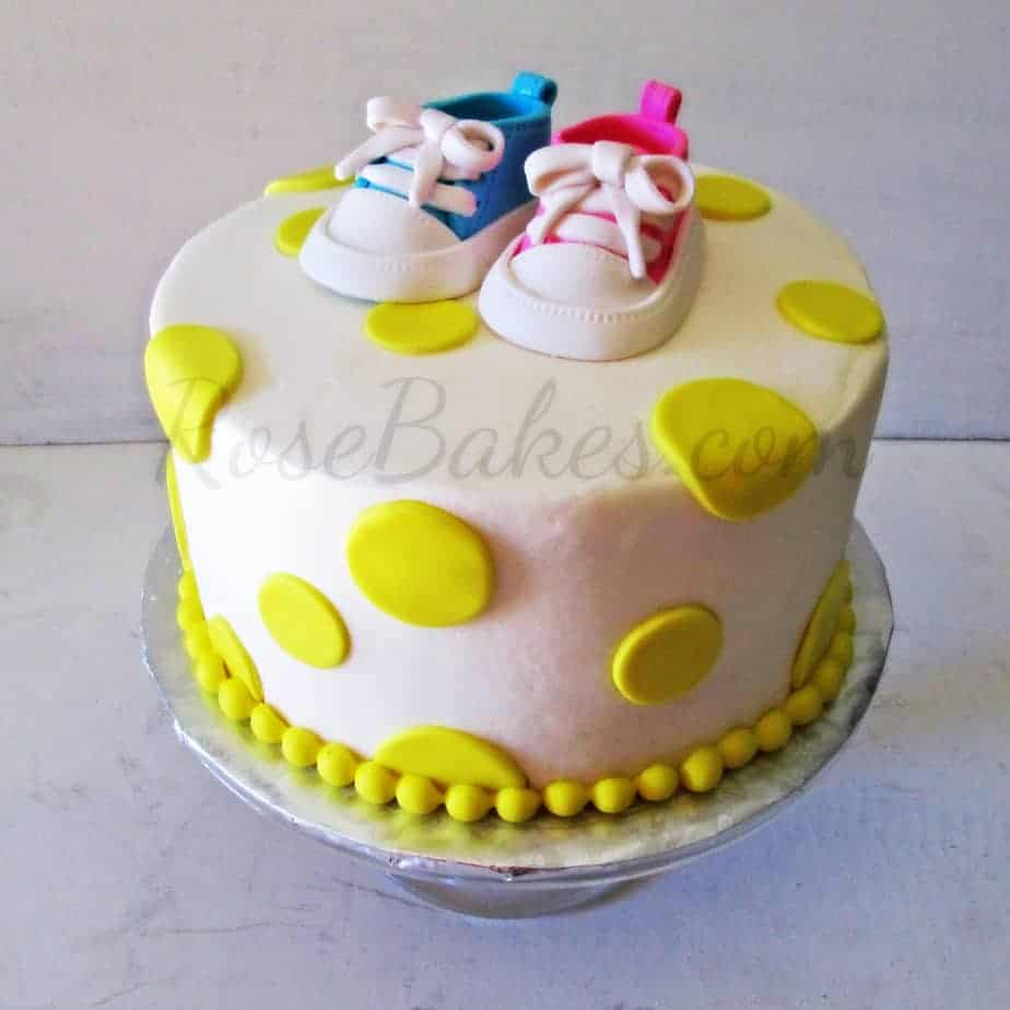 Groovy Baby Converse Shoes Baby Shower Cake Behance Baby Shower Cake Ideas Gender Neutral Baby Shower Cake Ideas Without Fondant ideas Baby Shower Cake Ideas
