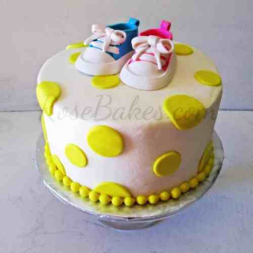Medium Of Baby Shower Cake Ideas