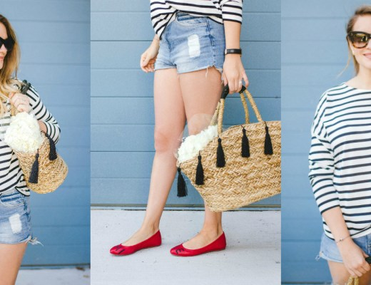 canadian-fashion-blogger-rose-city-style-guide-ellen-degeneres-flats-striped-top-summer-outfit