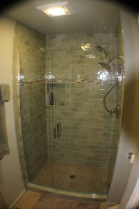 glass shower surrounds | Notes from the Field