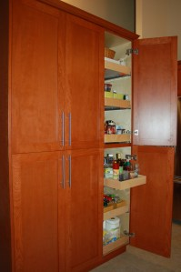 Full Height Kitchen Cabinets A Beautiful Kitchen Remodel Rose Construction Inc