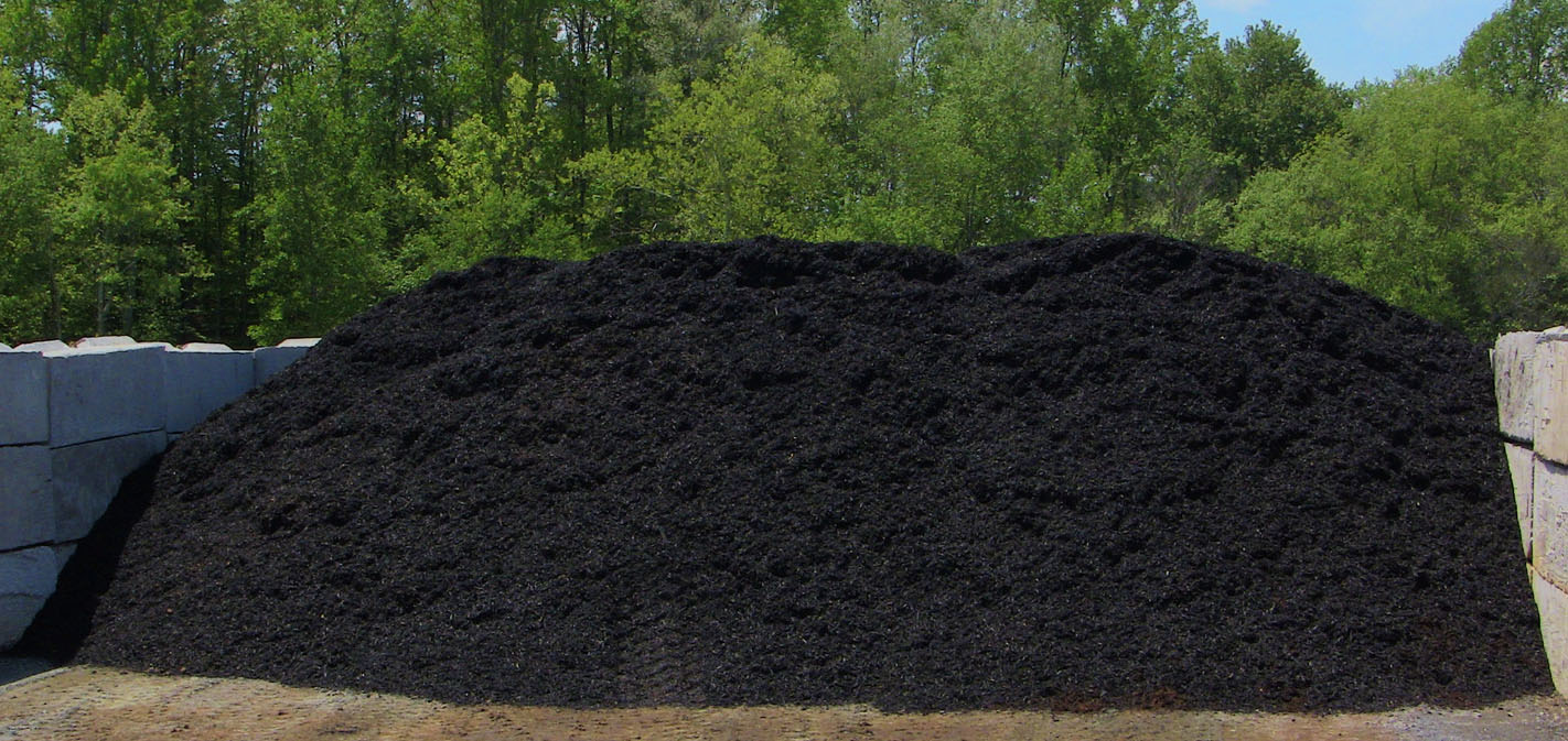 Black Bark Mulch Landscaping Mulch In Charlottesville Rose Hauling Llc